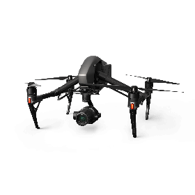 DJI Inspire 2 w/ Zenmuse X7 Camera (Lens Excluded)