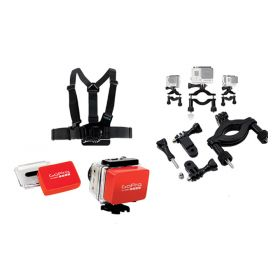 GoPro Chesty Harness + Floaty BackDoor + Roll Bar Mount
