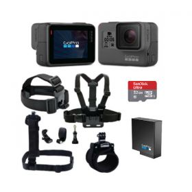 GoPro Hero 5 Black with Smatree 7-in-1 Bundle
