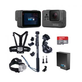 GoPro Hero 5 Black with Smatree 13-in-1 Bundle
