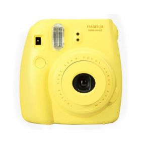 Fujifilm instax Mini 8, Instant Camera, Yellow