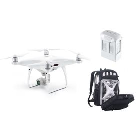 DJI Phantom 4 Pro with W/ Free Extra Battery and Backpack