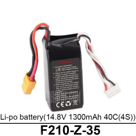Walkera F210 Multicopter RC Drone 14.8V 1300mAh 40C Battery