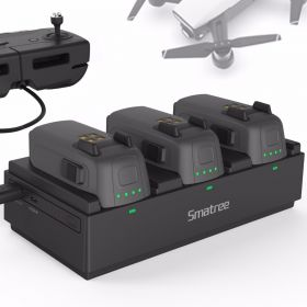 Smatree Battery Power Station for DJI Spark - Charge 3 Flight Batteries Simultaneously,Up to 6 PCS Batteries Can Be fully Charged Before Recharging