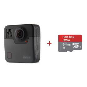 Gopro Fusion with Sandisk 64gb SD card