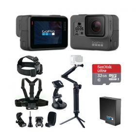 GoPro Hero 5 Black with Smatree 9-in-1 Bundle