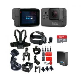 GoPro Hero 5 with Smatree 25-in-1 Bundle