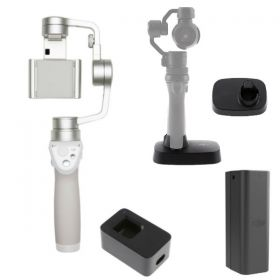 DJI Osmo Mobile Silver Must Have Bundle