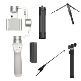 DJI Osmo Mobile Silver GO Bundle
