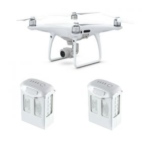 DJI PHANTOM 4 PRO W/ 2 EXTRA BATTERIES